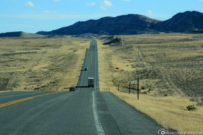 Die Interstate 25 Richtung Süden