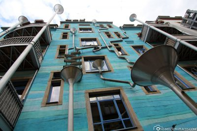 The courtyard of the elements in the Kunsthof