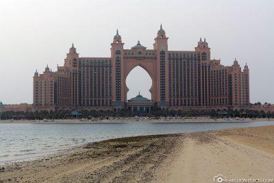 Das Hotel Atlantis the Palm