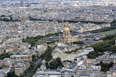 Blick von der Aussichtsplattform des Tour Montparnasse