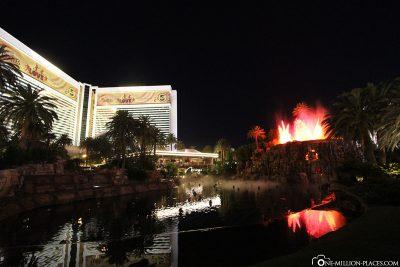 Der Vulkan am Hotel Mirage
