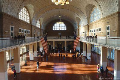 Ellis Island Immigrant Building