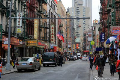 The Chinatown neighborhood
