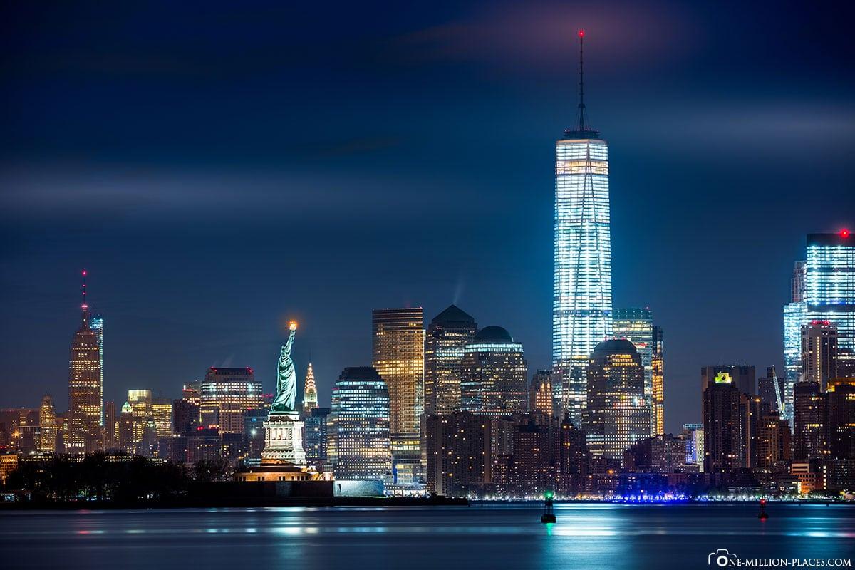 One World Trade Center, New York City, USA, Sehenswürdigkeiten, Fotospot, Reisebericht