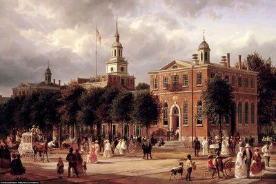 Historisches Gemälde von Ferdinand Richardt (1858–1863)