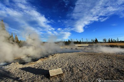Das Lower Geyser Basin