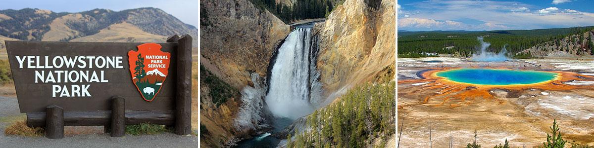 Yellowstone Nationalpark Headerbild