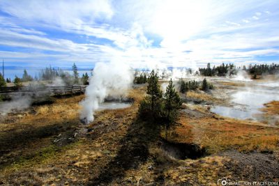 Das West Thumb Geysir Basin