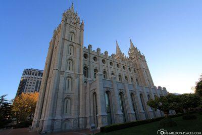 Der Salt Lake Temple
