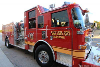 Eine Feuerwehr