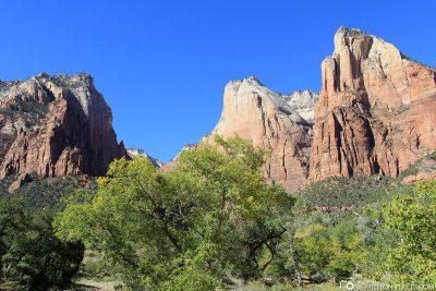 Die Berge im Nationalpark