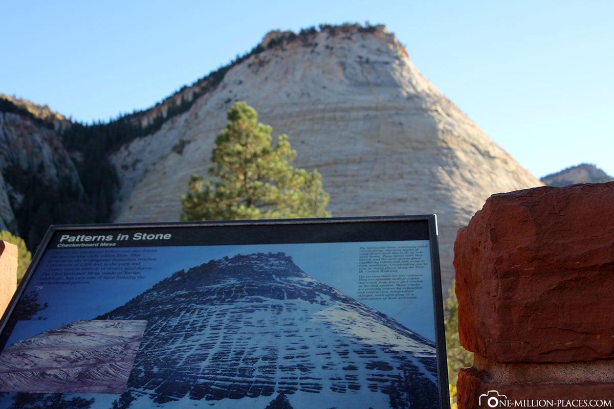 Patterns in Stone, Zion Nationalpark, Utah, USA, Auf eigene Faust, Reisebericht