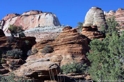 Der Canyon Overlook Trailhead