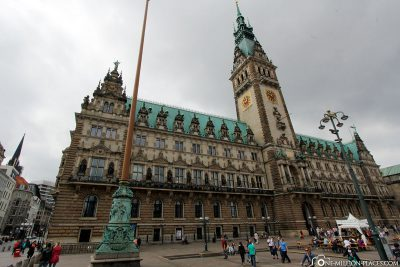 The Hamburg City Hall