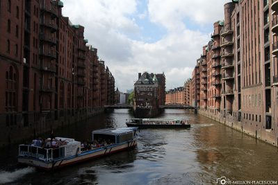 The Hamburger Speicherstadt