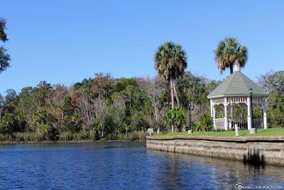 Die Kanäle der Kings Bay