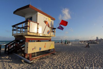 Lifeguard-Turm in Miami