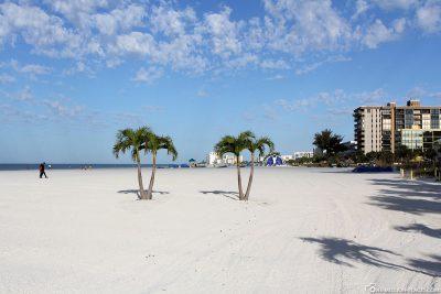 Der tolle Strand am St. Pete Beach
