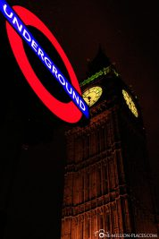 The Big Ben in the evening