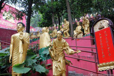 Die Buddha Statuen