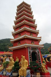The pagoda in the main square