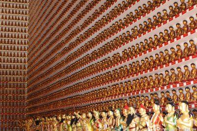 A Buddha Wall