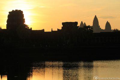 Ein toller Sonnenaufgang