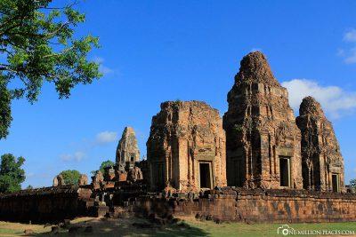 Die Tempelanlage Banteay Srei