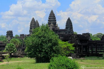 Der Haupttempel Angkor Wat