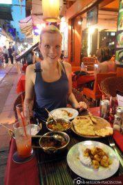 Essen in der Pub Street