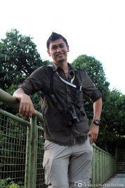 Our guide in Borneo