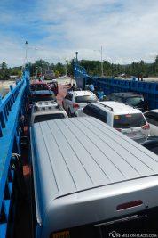 Die Fähre nach Cebu