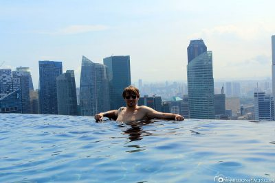 Infinity Pool des Marina Bay Sands