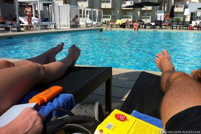 Entpsannen am Pool