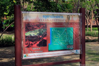 Der Eingang zu Wat Mahathat