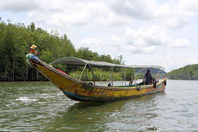 Die Ausflugsboote