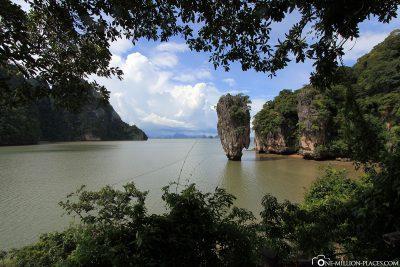 Die Felsnadel Khao Ta-Pu
