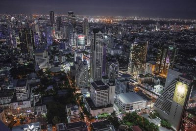 Blick über Bangkok