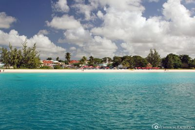 Sandy Lane Bay in Barbados