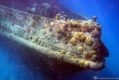A wreck in Carlisle Bay