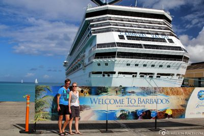 The Carnival Valor in Barbados