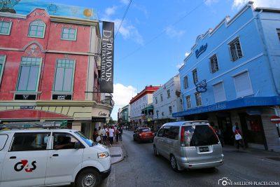 Stadtrundgang in Bridgetown