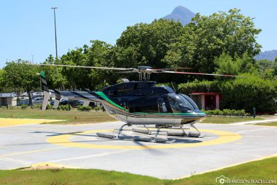 Helicopter round trip launch in Rio de Janeiro
