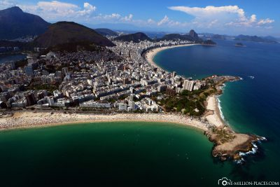The view of Ipanema & the Copacabana