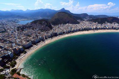 View of the Copacabana