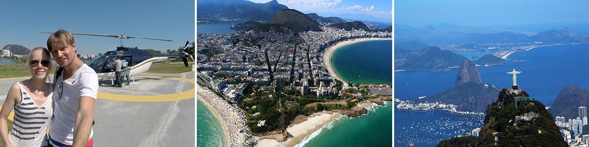 Rio de Janeiro Helikopter Rundflug Headerbild