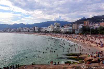 The beach of Ipanema