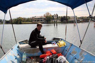 Boat trip in Kings Bay