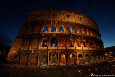 Das Kolosseum am Abend