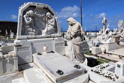 Der Friedhof Santa María Magdalena de Pazzis